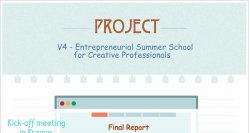 V4 – Entrepreneurial Summer School for Creative professionals